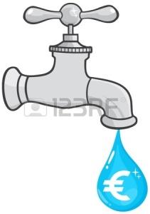 14510450-torneira-pingando-água-com-euro